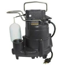 Cast Iron Body Comm SUMP PUMP Submersible - Electric - 4,320 GPH - 1/2 Hp - 115V
