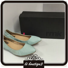 RMK Kitten Mint Flats RRP $109.00 Size 38 or 7