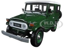 TOYOTA FJ40 FJ 40 GREEN 1:24 DIECAST MODEL CAR BY MOTORMAX 79323