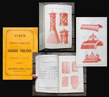 c1850 Catalogue for Tiles and Architectural Ornaments Grande Tuilerie Bouveret