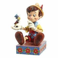 Disney Traditions Just Give a Little Whistle Pinocchio Figurine NEW  24145