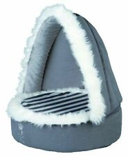 TRIXIE My Prince grigio COCCOLONE Grotta gatto gattino cane piccolo Posh hooded letto 37811hs