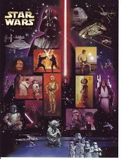 {BJ stamps}  #4143, 41¢ Star Wars sheet of 15, issued in 2007