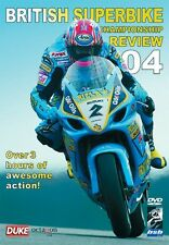 BRITISH SUPERBIKE REVIEW 2004 DVD. 220 Mins. W/screen. BSB. DUKE Video 1682NV