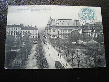 FRANCE - carte postale 1906 saint-etienne (la prefecture) (cy68) french