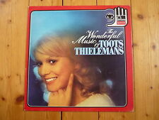 Toots Thielemans - The Wonderful Music Of Toots Thielemans FONTANA LP