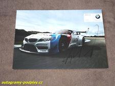 Martin TOMCZYK - original autogramm, BMW Z4 GT3 Karte/card, 15x21 cm
