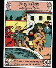 BOURGES (18) IMAGE Benjamin RABIER Peche à la ligne / Confection Henri ESDERS