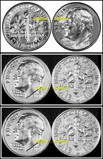 3x UNITED STATES 1991 2000 P 2001 P AMERICA DIME USA ROOSEVELT 10 CENT COIN LOT