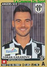 046 GORAN KARANOVIC # SUISSE SCO.ANGERS SERVETTE STICKER PANINI FOOT 2016