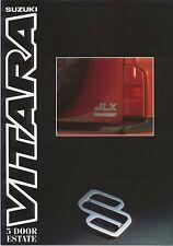 Suzuki Vitara 1.6 Estate 5-dr 1991-92 UK Market Sales Brochure