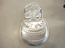 EASTER EGG CHICK  Cake Pan Birthday Aluminum  WILTON 2105-2356 VINTAGE 1985
