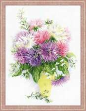 "Counted Cross Stitch Kit RIOLIS - ""Asters"""