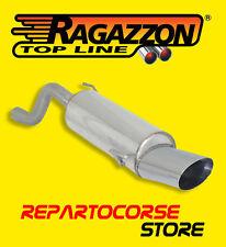 RAGAZZON TERMINALE SCARICO OVALE 135x90mm ALFA ROMEO MITO 1.4 TB 88kW 50.0253.12