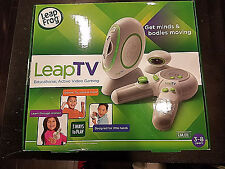 NEW LeapFrog LeapTV Learning Educational Active Video Game Leap TV Frog BUNDLE