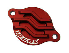 REC MX Red Billet Oil Filter Cover 2002-2008 Honda CRF450R / CRF450X / TRX450R