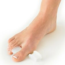 2 pcs GEL SILICONE TOES PROTECTOR BUNION PAIN RELIEF TOE SPREADERS SIZE M/L
