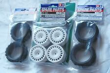 TAMIYA 1/10 RC CAR TIRE(50476)+WHEEL(51021)+INNER(53156) Rally Concept SET