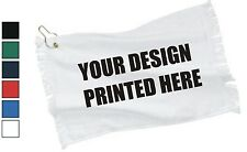 50 Custom Screen Printed Towels with Grommet - $3.50 each