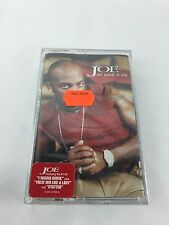 Joe:  My Name Is Joe (Cassette, 2000, Jive Records) NEW