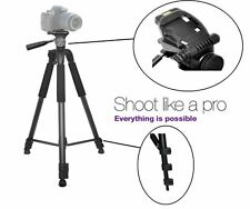 "Professional Heavy Duty 75"" Tripod with Case for Panasonic HDC-Z10000 HDC-TM90"