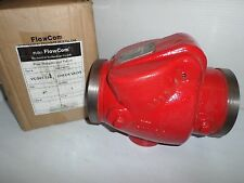 "NEW FLOWCOM VCG01-114 FIRE SPRINKLER 4""CHECK VALVE GROOVED ENDS(Victaulic Type)"