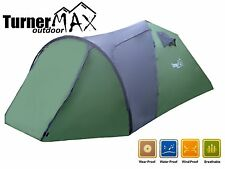 TurnerMAX Outdoor 4 Person Large Dome Family Camping Hiking New Fishing Tent