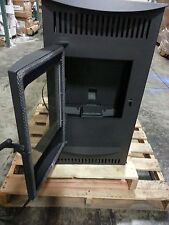 12327 Castle's Serenity Wood Pellet Stoves Lot of 2 on pallet  SALES MODEL
