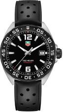New Tag Heuer Formula 1 Quartz 41mm Men's Rubber Strap Watch WAZ1110.FT8023