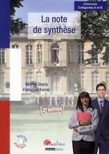 la note de synthèse (2e édition) Deyra  Michel  Ferrer  Fabienne Occasion Livre