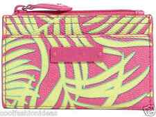 NWT Vera Bradley Slim Coin Purse in Palm Fronds pouch 13691 308 CO