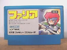 Nintendo Famicom Faria RPG Game Cassette Cartridge Family Computer JAPAN a0307-5