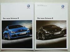 Prospekt Volkswagen VW Scirocco R, 11.2009, 20 Seiten + Preisliste