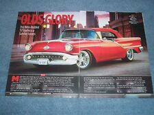 "1957 Oldsmobile Starfire 98 Convertible RestoRod Article ""Olds Glory"""