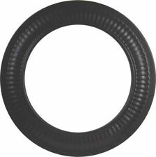 Imperial Manufacturing BM0096/8-605 Black Stove Pipe Trim Collar 8in 24 Gauge *