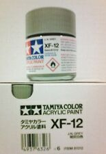 Tamiya acrylic paint. XF-12 J.N. Grey, 23ml.