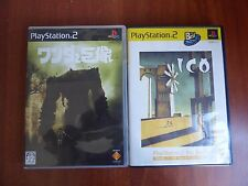 Ico + Shadow of the colossus PlayStation 2 Japan Ps2