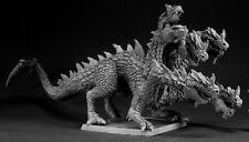 Hydra Reptus Monster Reaper Miniatures Warlord Reptile Dragon Melee Tiamat