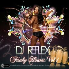 DJ REFLEX FUNKY HOUSE MIX CD VOL 1