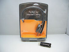 Plantronics Audio 310-USB / Audio 610-USB Mono Silver Headband Computer Headset