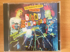 """THE BLANK GENERATION-HISTORY OF PUNK VOL 2""-EXPLOITED-SLITS-SHAM 69-UK SUBS-NEW"