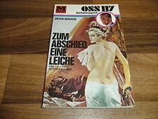 Jean Bruce -- Geheimagent OSS 117  # 12 // zum ABSCHIED eine LEICHE / 1. A. 1967