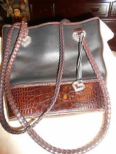 Brighton Purse Hanbag Black Brown