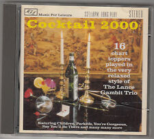 LANCE GAMBIT TRIO - cocktail 2000 CD
