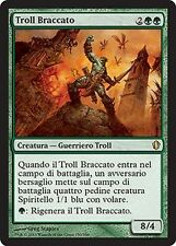 2x Troll Braccato - Hunted Troll MTG MAGIC C13 Commander 2013 Ita