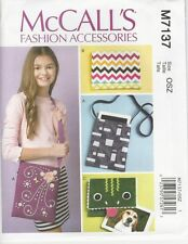 McCalls M7137 Craft Pattern Electronic Device Cases Sizes OSZ Uncut