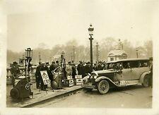 """""""RALLYE AUTOMOBILE DE MONTE-CARLO 1932"""" Photo originale G. DEVRED (Agce ROL)"""