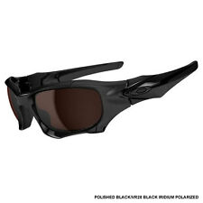 Oakley Pit Boss II OO9137-02 Polish Black/VR28 Blk Iridium Polarized Sunglasses