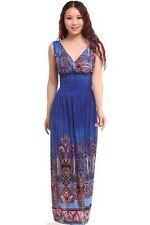 summer new  peacock bohemia long  dress sexy casual maxi dress