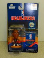 NBA HEADLINERS- 76ERS- JERRY STACKHOUSE- (BLACK JERSEY) NEW ON THE CARD- L150